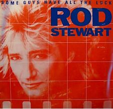 ++ROD STEWART some guys have all the luck/i was only joking SP 1984 WB EX++