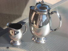 ONEIDA COMMUNITY SILVERPLATE HI - LIGHT COFFEE POT & CREAMER  2 PIECES