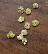 Drill 1.0 ct Yellow raw uncut Diamond beads rough diamond beads 1.5-2.5mm NR15