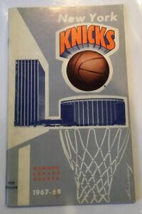 1967 – 1968 New York Knicks NBA Basketball Press Media Guide Yearbook