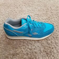 Reebok Classic Mens Running shoes teal suede Men's size 11 style GL 2620