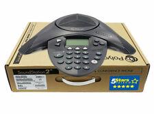 Polycom Soundstation 2 Ex Conference Phone 2200 16200 001 Brand New 1 Yr Warr