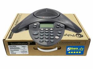 Polycom Soundstation 2 EX Conference Phone (2200-16200-001) Brand New, 1 Yr Warr