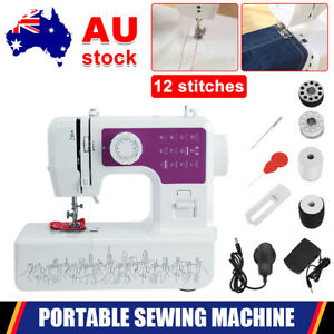 Electric Hand Held Sewing Machine Portable Mini Desktop Multi-Function Stitching