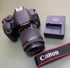 Canon EOS 700D 18.0MP Digital SLR (Kit w/ EF-S 18-55mm IS STM.7323 Low Shutter!!