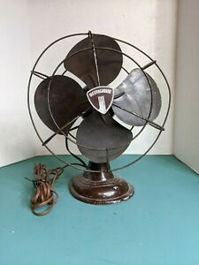 Vintage Westinghouse 10 Inch Electric Oscillation Fan Style# 1137817 Cat# 10-B-3