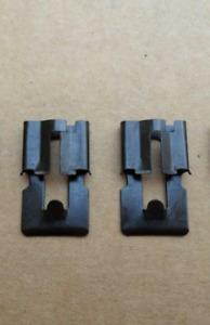 2 VINTAGE NOS DOOR LOCK ROD CLIPS! 1955-65 GM CORVETTE BEL AIR IMPALA C10 LEMANS