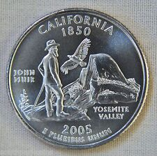 2005-P Uncirculated California Statehood Quarter - Single