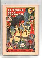 Bonne Presse. Albums cinématiques. LE TRÉSOR DE LA DEVADASSI. Catalany 1941