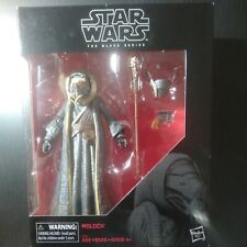 """Star Wars:The Black Series Moloch 6"""" action figure brand new in the box w/acc."""