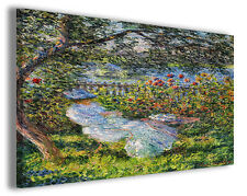Quadro moderno Claude Monet vol XIV stampa su tela canvas pittori famosi