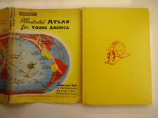 Hammond's Illustrated Atlas for Young America, Weekly Reader, DJ, 1956