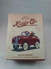 "New ListingHallmark Keepsake Ornament Kiddie Car Classics ""1949 Gillham Sport"" New"