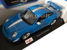 Maisto 1:18 Scale - Porsche GT3 RS - Blue - Diecast Model Car