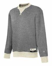 Champion Sweatshirt Men's Original Sueded Fleece Crew Authentic Pullover Sweats