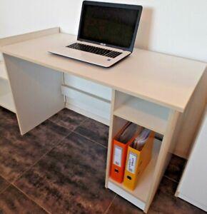 Schreibtisch Schülerschreibtisch Büromöbel PCTisch  Weiß 18 mm Platte ANGEBOT