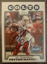 2008 Topps Authentic Peyton Manning Autograph