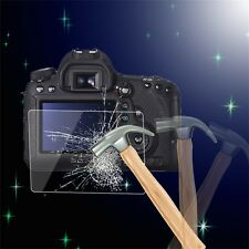 Tempered Glass Camera LCD Screen HD Protector Cover for Canon 6D 7P