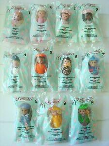 NEW 2003 Madame Alexander Dolls McDonald Happy Meal Toys LOT Set of 11 Halloween