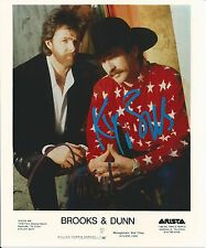 Brooks & Dunn 8x10 SIgned Photo autograph country music