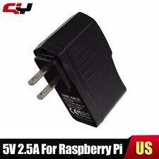 US Plug 5V 2.5A USB Adapter Charger Power Supply Raspberry pi AC 100-240V DC New