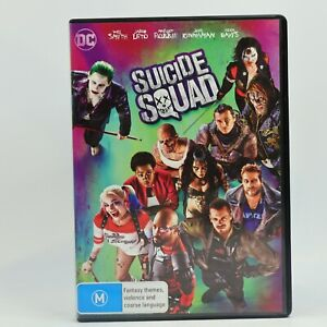 Suicide Squad DVD R4 Movie Good Condition Free Tracked Post AU