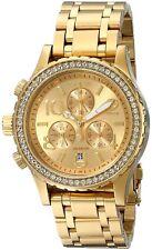 New Nixon 38-20 Chronograph Gold-Tone Steel Quartz Women's Watch A4041520