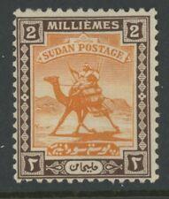British Sudan, Mint, #30, Og Hr, Nice Centering