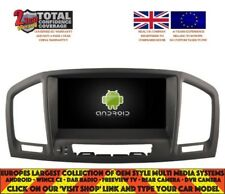 AUTORADIO DVD GPS NAVI BT ANDROID 7.1 DAB+ VAUXHALL OPEL INSIGNIA OPA-7851 Black