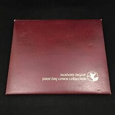 READER'S DIGEST FIRST DAY COVER COLLECTION BINDER-FDC STAMP LOT FROM 1980 - 1981