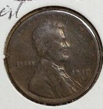 1910 S  Lincoln Wheat One Cent VG-F ********** Check it Out! KM# 132 #AA075