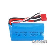 7.4V 1500mAh Li-po Battery for Wltoys 12428 12423 12401 12404 Remote Control Car