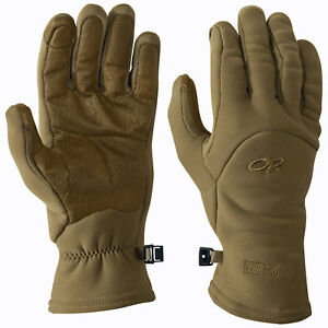 Outdoor Research MGS Fleece Gloves Coyote Brown USA Made