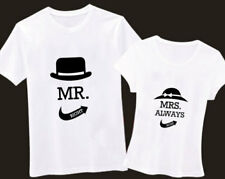 "B&B COUPLE SHIRTS  "" Mr. Right / Mrs. Always Right """