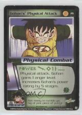 2000 Dragonball Z Tcg: Saiyan Saga #26 Gohan's Physical Attack Gaming Card 2u3