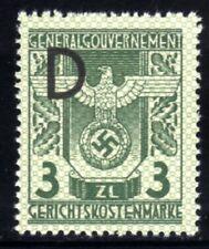 433-GERMAN EMPIRE-Third reich.WWII.GENERALGOUVERNEMENT NAZI Court REVENUE MNH**