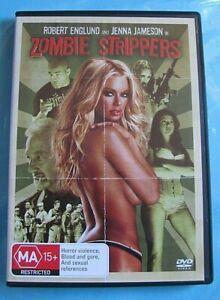 ZOMBIE STRIPPERS DVD Horror/Comedy Region 4