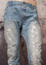 G-STAR RAW _ jeans _% Sale% _ arc 3d slim _ lt aged destroy _ NEUF _ w33/l34