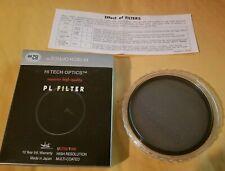 NEW NIB Hi Tech Optics 82mm Polarizing PL Filter Made in Japan FREE SHIPPING