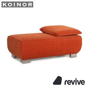 Koinor Volare Fabric Stool Orange Function