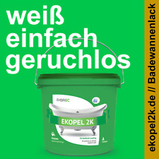 EKOPEL 2K Dickschicht Badewannenlack 3,4kg Keine intensiven Gerüche DIN EN 71-3