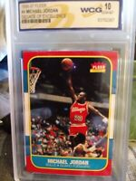 1996-97 Michael Jordan #4 Decade Of Excellence Gradred Gem Mint 10