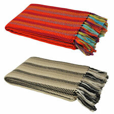 Acrylic Herringbone Modern Decorative Throws