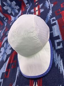 Vtg 90s Patagonia USA Made Mesh Cycling Cap Size Large Mens Duck Bill Hat Net
