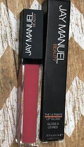 Jay Manuel Beauty The Ultimate Lip Gloss Pinch Soft Pink NIB