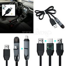 2 in1 Spy GPS Tracker Car Vehicle USB Charger Cable Real Time GSM/GPRS Tracking