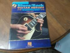 HAL LEONARD BLUES ROCK GUITAR HEROES NO CD