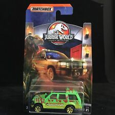 RARE 2018 Matchbox Jurassic World (Legacy Collection) '93 Ford Explorer #5 NIB