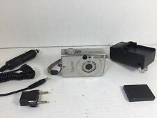 Canon PowerShot SD100 3.2MP Digital ELPH Camera With Accessories Tested Works