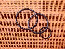 3 Stk. neue Qualitäts Antriebsringe für Emco Unimat 3 /  belts set for lathe